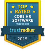 TrustRadius Top Rated Core HR for Enterprise 2015