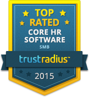 TrustRadius Top Rated Core HR for SMB 2015