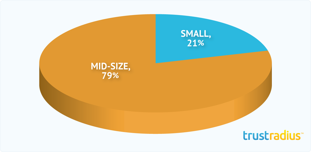 NetSuite CRM+ Customer Distribution Pie Chart