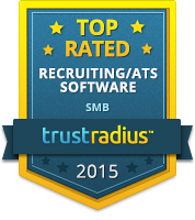 TrustRadius Top Rated Recruiting / ATS Software for SMB 2015