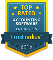 TrustRadius Top Rated Accounting Software for Enterprises 2015