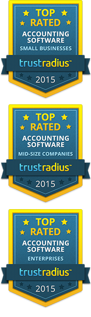 TrustRadius Top Rated Accounting Software for Small, Midsize, and Enterprise Businesses 2015