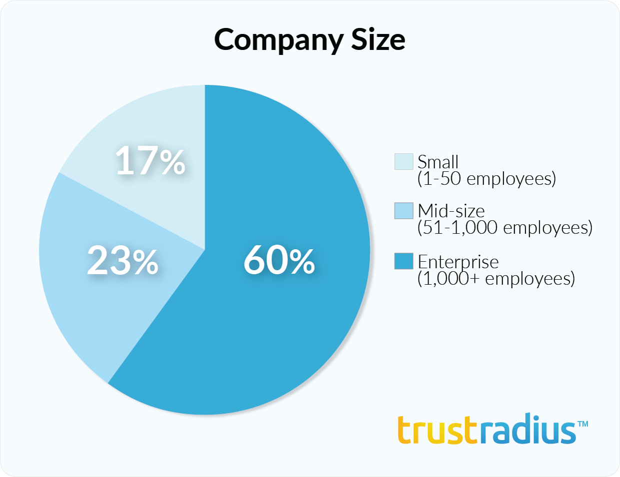 SAP Business Objects customer demographics - company size