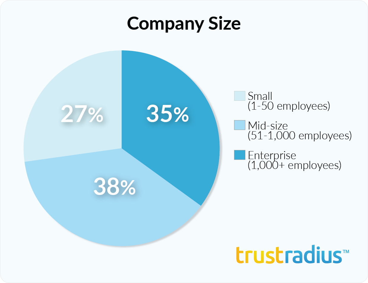 SAP Crystal Reports customer demographics - company size
