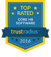2016 Top Rated Core HR Software Badge