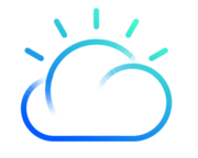 IBM Cloud PaaS (formerly IBM Bluemix - PaaS) logo