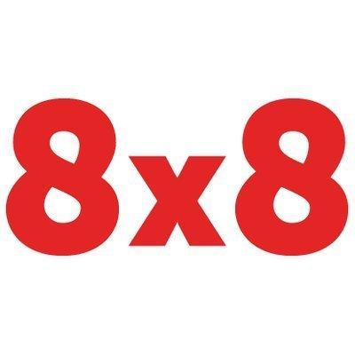 8x8 Virtual Office logo