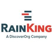 RainKing (acquired by DiscoverOrg) logo