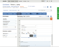 jobvite screenshot make scheduling interviews easy with our smart scheduler that integrates with outlook and - The Resumator